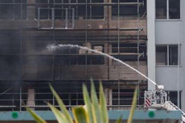 Požiar vznikol v júli aj vo Virologickom ústave Slovenskej akadémie vied na Patrónke
