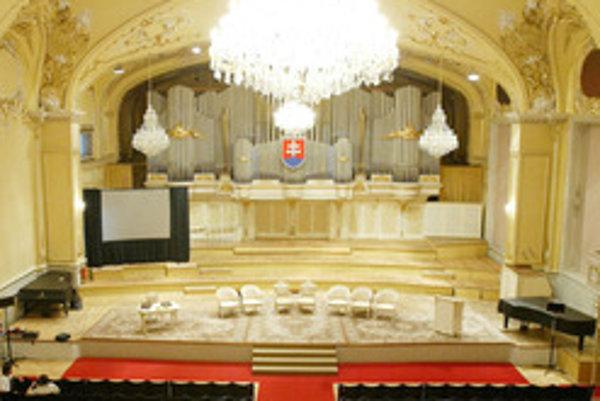 Filharmónia otvorí novú sezónu v historickej budove SND, čaká na dokončenie rekonštrukcie Reduty.