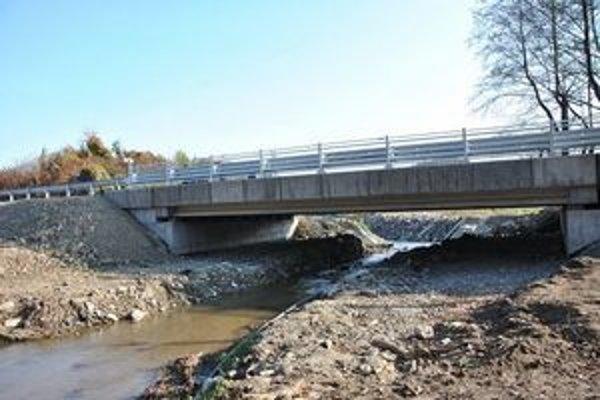 Nový most už funguje.