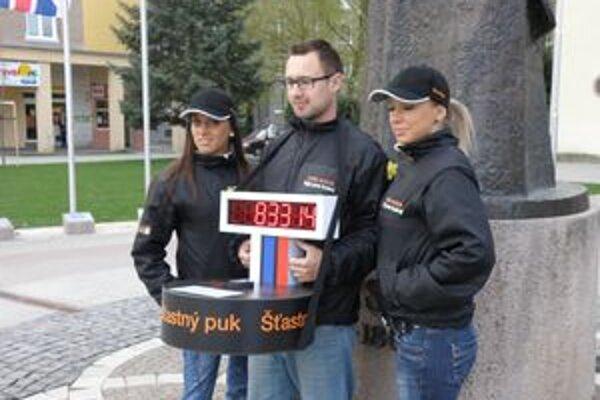 Šťastný puk pokračuje na ceste po Slovensku do konca apríla.