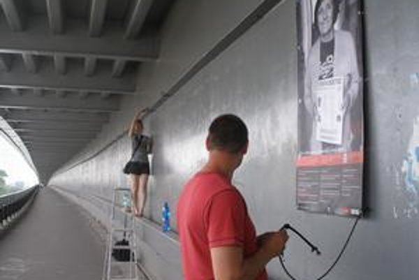 Výstava sa na Nový most vráti o 10 dní už iba na slávnostné uzatvorenie projektu.
