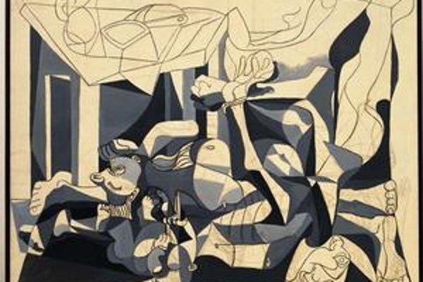 Z pripravovanej výstavy Picasso. Mier a sloboda vo viedenskej Albertine. Picasso: Dom nôh, Paríž 1944-1945.