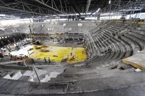 Rekonštrukcie štadióna Ondreja Nepelu napredujú.