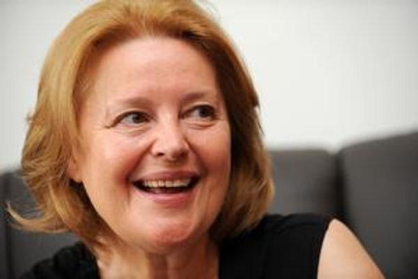 Magda Vášáryová kandidátka za SDKÚ.