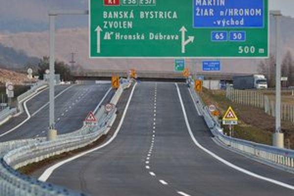 Po novej ceste budú môcť vodiči jazdiť už zajtra.