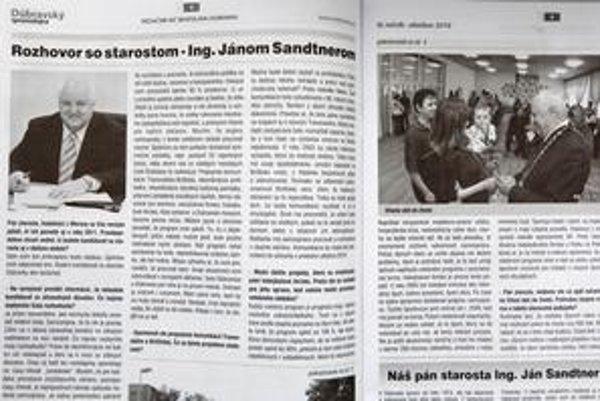 Dúbravský spravodajca – miestne noviny vydávané a financované mestskou časťou. Súčasťou každého čísla novín, ktoré chodia Dúbravčanom zadarmo do schránok, je napríklad aj rozhovor so starostom.