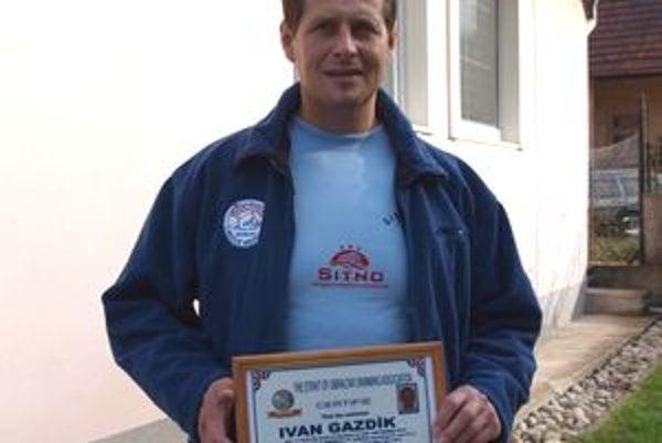 Ivan Gazdík za dva roky prekonal La Manche aj Gibraltár.