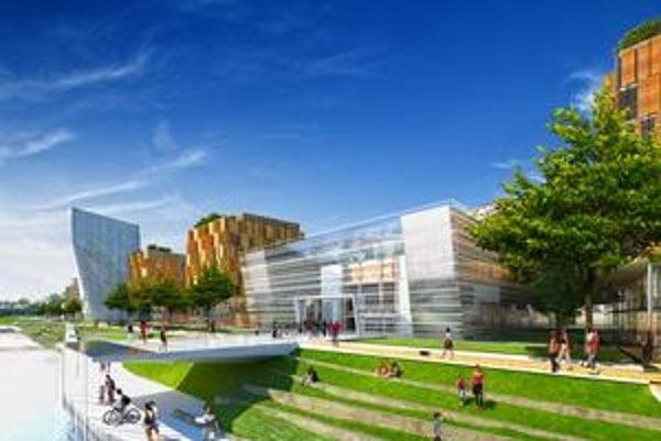 Vestibul PKO má presvitať cez sklenenú fasádu novej haly, ktorá má PKO nahrádzať.