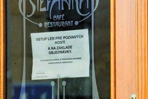 Do Štefánky majú vstup len pozvaní.