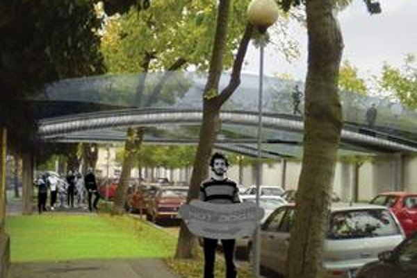 Prezidentský park môže vystreliť do záhrady Úradu vlády vo forme zelených tsunami