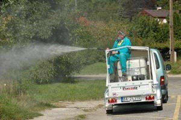 Postrek proti premnoženým komárom sa naposledy v meste robil pred troma rokmi. Najhoršia situácia bola v Devíne.