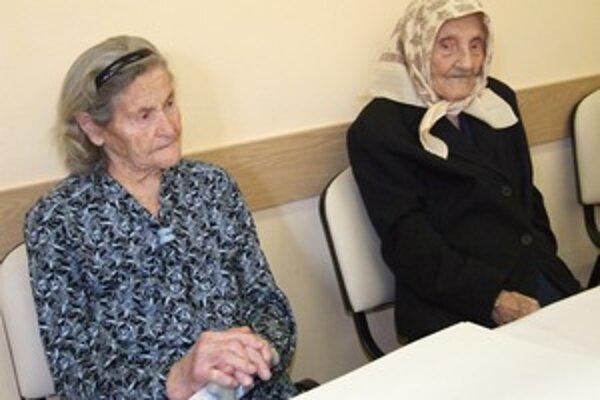 Mária Kleinová a Margita Beňová oslávili sto rokov.