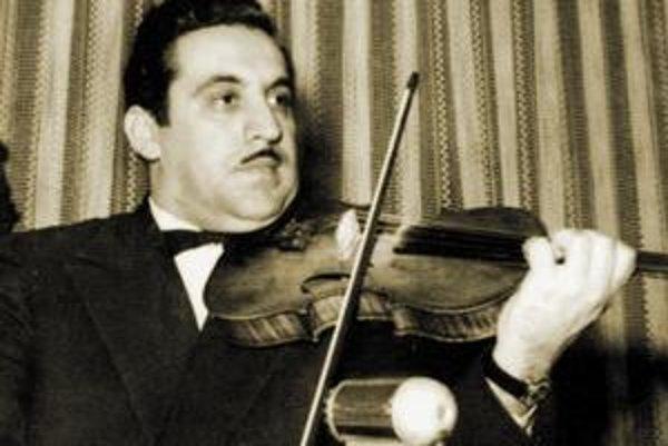 Ernest Oláh bol pán huslista.