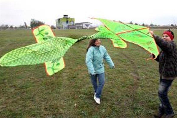 V Čunove prišlo na prvú šarkaniádu na divokej vode súťažiť okolo šesťdesiat účastníkov.