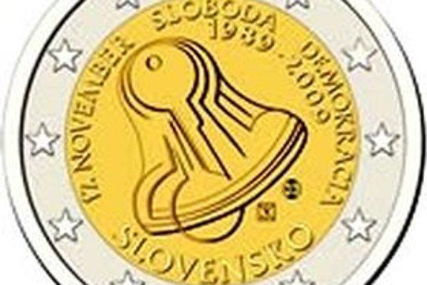 Autor využil motív zvona a kľúčov. Tie sa pred dvadsiatimi rokmi stali na slovenských námestiach znakom nesúhlasu s režimom.