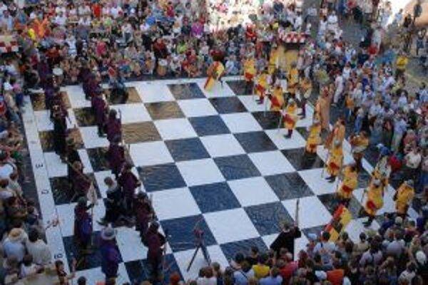 Živý šach zaznamená v Banskej Štiavnici už svoj piaty ročník.