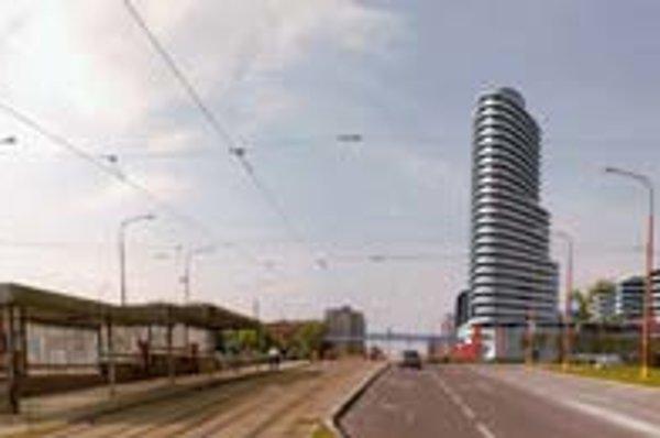 Interfinance Invest plánuje komplex s podobným nákupným centrom ako Polus v Dúbravke pri Dome kultúry. Medzičasom sa však zmenil územný plán mesta a od septembra tu možno stavať len do výšky maximálne ôsmich podlaží.