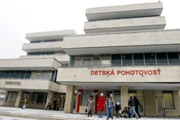 V Bratislave funguje už tretí rok jediná detská pohotovosť. Je vo Fakultnej nemocnici na Kramároch.