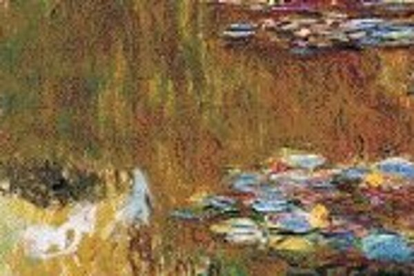 Claude Monet: Jazero s leknami, okolo 1919.