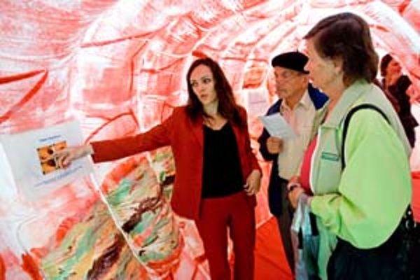 Maketa čreva, ktorá je súčasťou kampane na prevenciu rakoviny hrubého čreva a konečníka, sa z Bratislavy presunie do Trnavy, Nitry, Zvolena, Žiliny, Popradu či Košíc.
