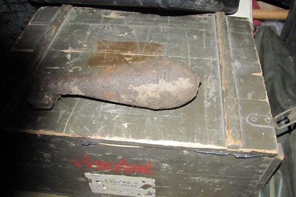 Muníciu z II. svetovej vojny našli v katastri obce Nová Bošáca.