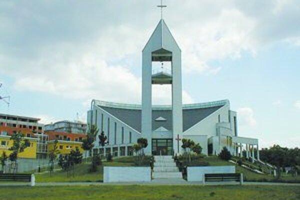 Bratislavský Kostol sv. Vincenta de Paul.