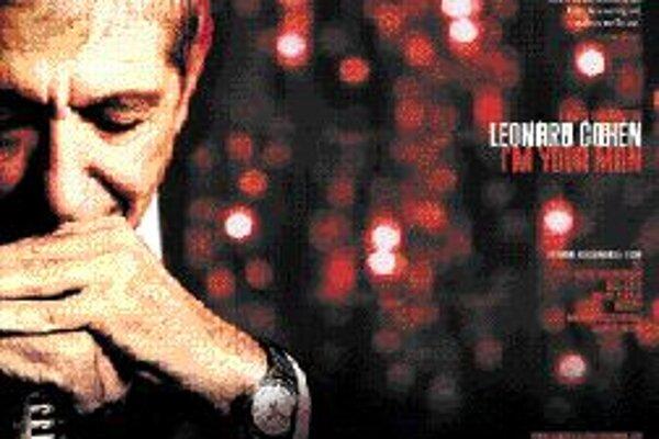 Plagát k filmu Liana Lusona o Cohenovom živote, nazvanému Im Your Man.