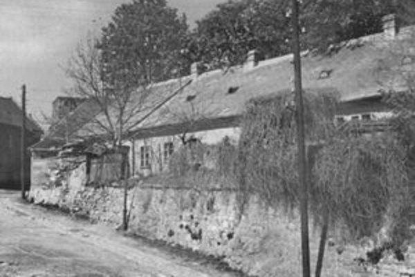 Ulica Vodný vrch, 1964.