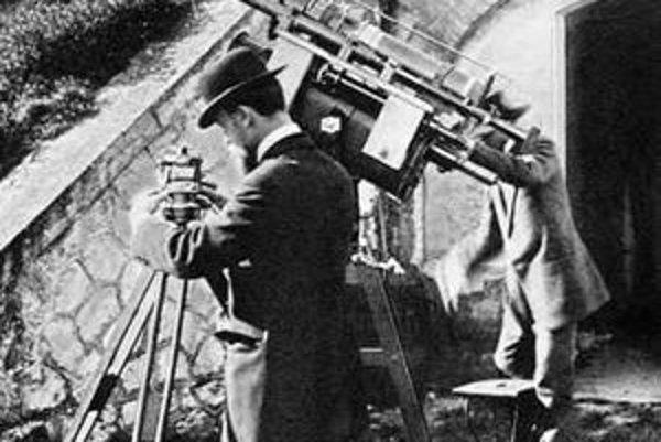 M. R. Štefánik bol generál, letec a diplomat, ale prvé mezinárodné úspechy dosiahol ako astronóm. FOTO – OBSERVATORY.CZ