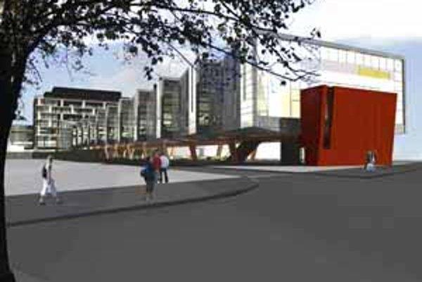 Nová autobusová stanica má mať dve nadzemné a dve podzemné podlažia. Vstup bude možný z Páričkovej, Mlynských Nív, Karadžičovej a Továrenskej.