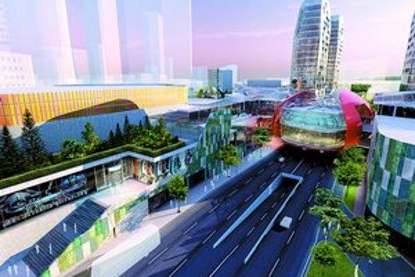 Ružinovské zastupiteľstvo schválilo urbanistickú štúdiu k Twin City, stanovili si však podmienky. Niektoré z nich ako zvýšenie množstva zelene už investor zapracoval.