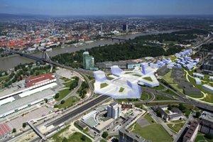Neprívetivú mestskú diaľnicu chcú architekti zakryť parkom a budovami.