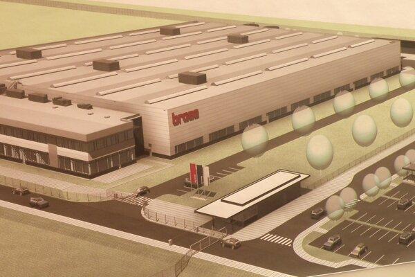 Takto bude vyzerať nový závod Brose v Prievidzi.