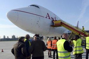 Prehliadka prvého slovenského nákladného Boeingu 747-400SF.