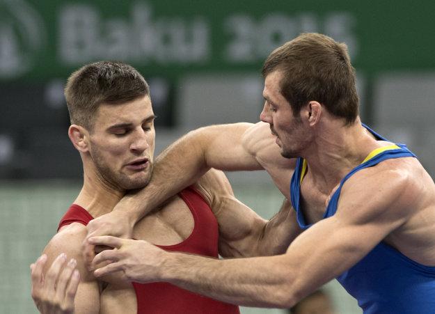 István Lévai (vľavo) je bronzovým medailistom z vlaňajších Európskych hier v Baku.