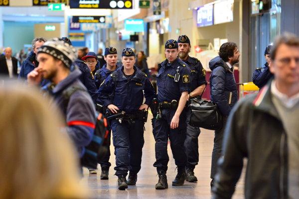 Na útoky v Bruseli z 22. marca vtedy reagovalo aj Letisko M. R. Štefánika v Bratislave, ktoré sprísnilo bezpečnostné opatrenia. Ilustračné foto.