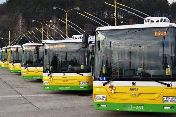 Nové trolejbusy budú stáť viac ako 15 miliónov eur.