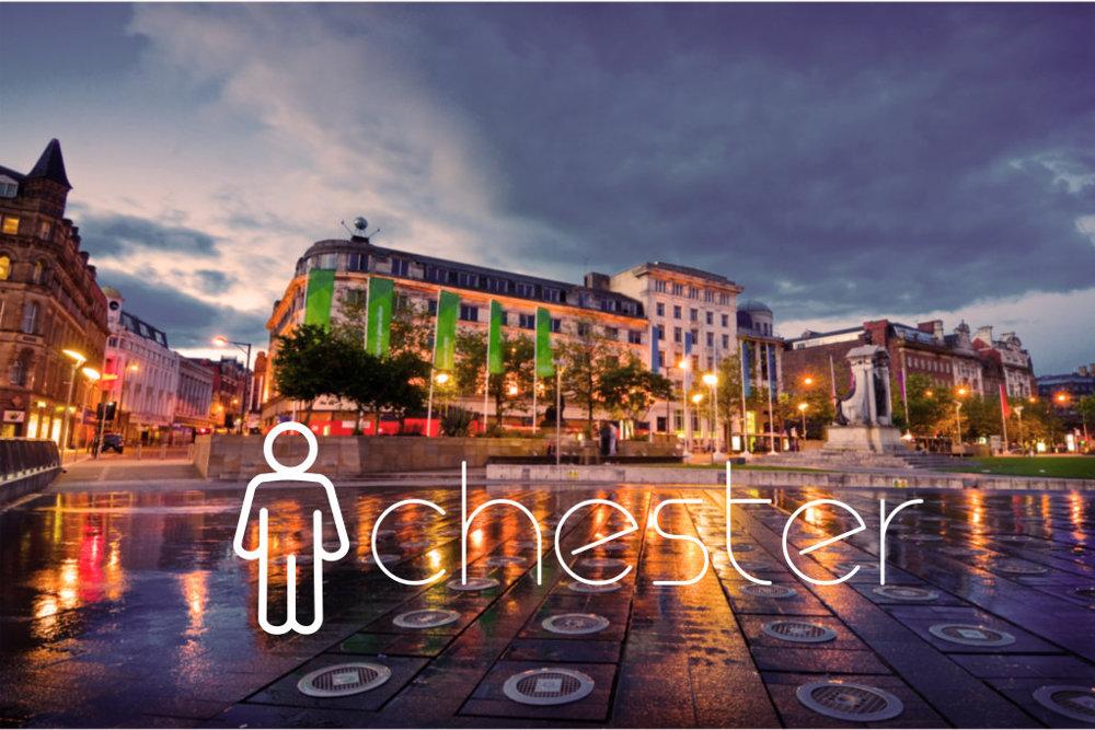 Manchester. angl. Man(=muž)+chester