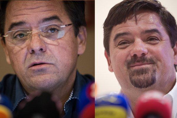 Podnikateľ Marián Kočner sa v apríli ukázal so zmeneným imidžom. Portrét vpravo je z decembra 2012.