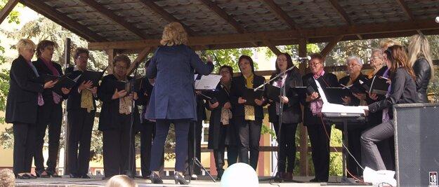 Divákov známymi piesňami rozospieval spevácky zbor Letokruhy