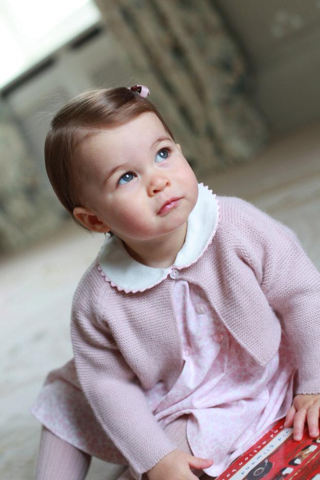 Najnovšia fotografia princeznej Charlotte