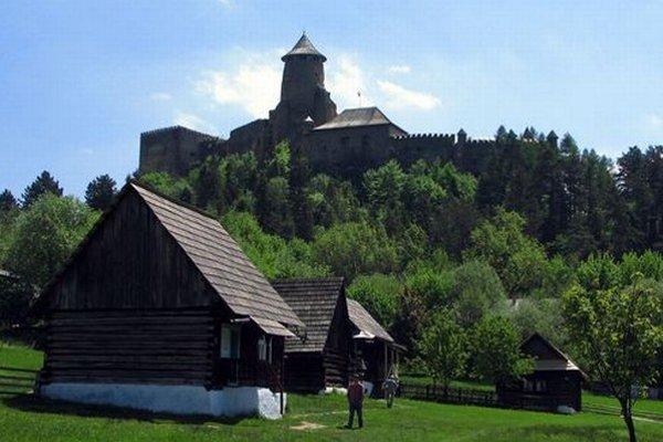 Skanzen pod Ľubovnianskym hradom.