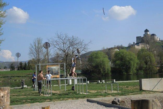 Pohyb, synonymum trenčianskeho Born To Trick Parku.