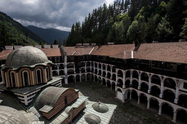 Rilský kláštor.