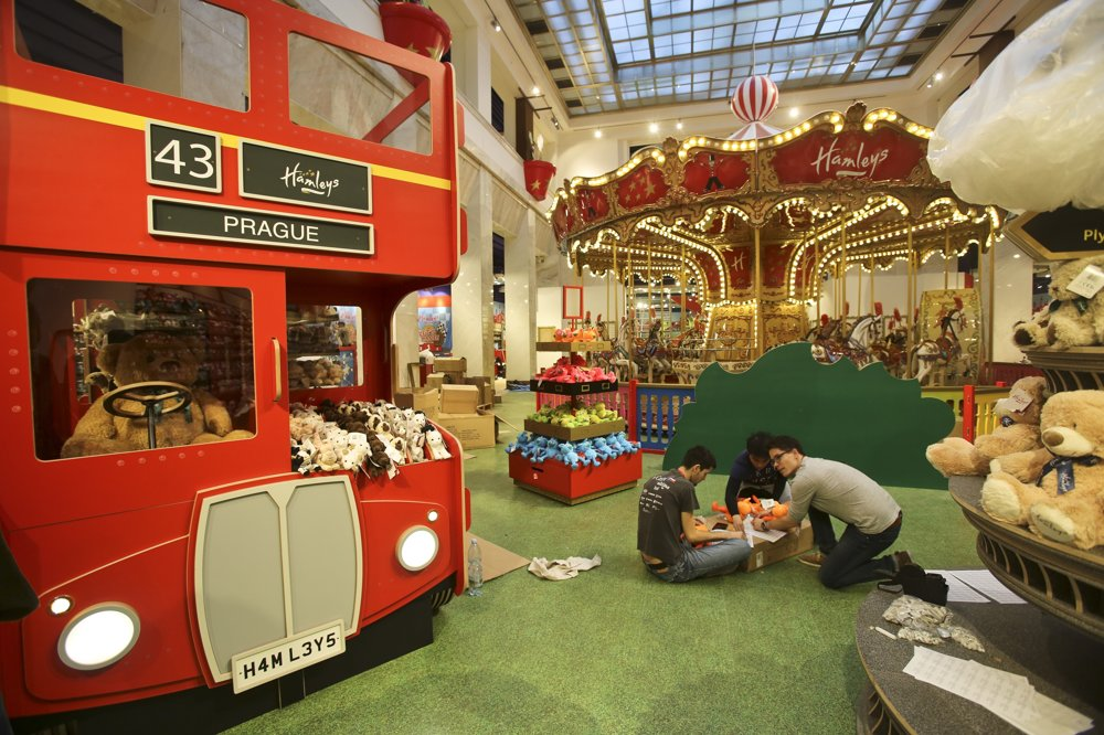 A keďže značka vznikla v roku 1760 v Londýne, nemôže chýbať slávny londýnsky autobus.