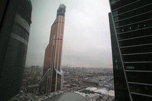 Nový komplex budov je súčasťou stavebného boomu v ruskej metropole.