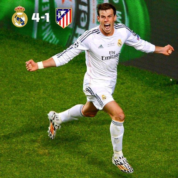 Pri finálovom triumfe v Lisabone pred dvomi rokmi skóroval aj Gareth Bale.