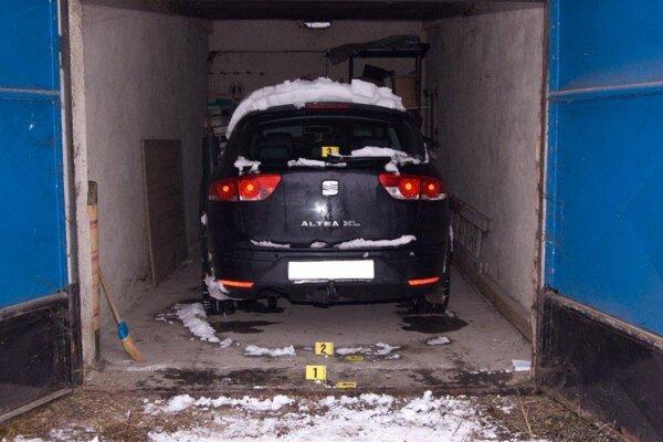 Ukradnuté auto vrátili majiteľke.
