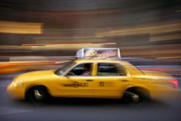 Taxík v New Yorku.