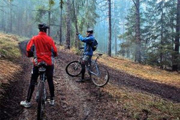 Jazdou v lese zistíte svoje limity